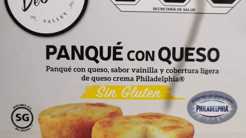 Caja PANQUÉ CON QUESO Sin gluten