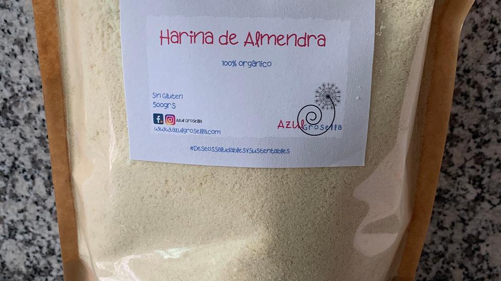 Harina de Almendra 100% orgánica