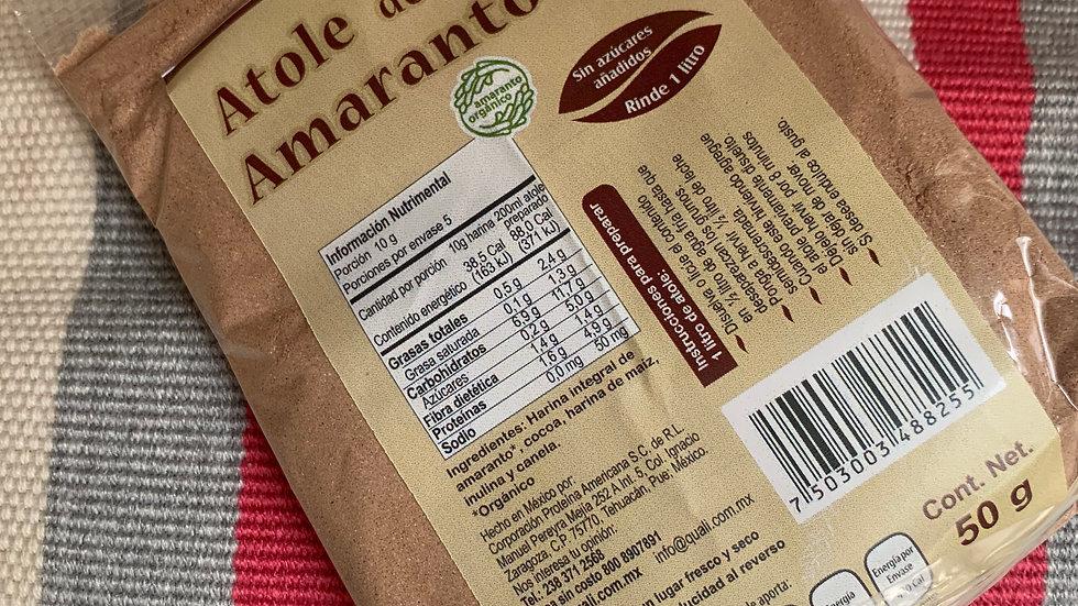 Atole de amaranto sabor chocolate SIN GLUTEN