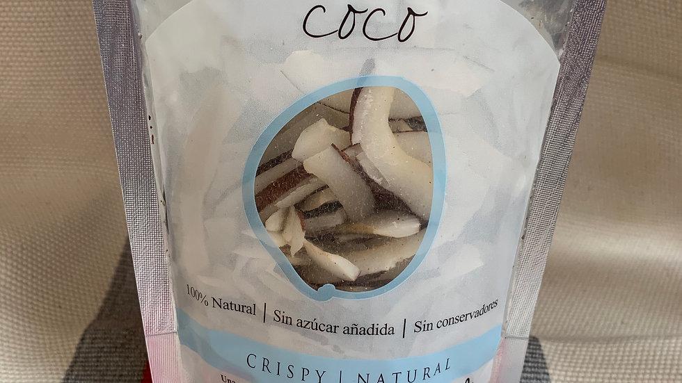 COCO deshidratado crujiente SIN GLUTEN