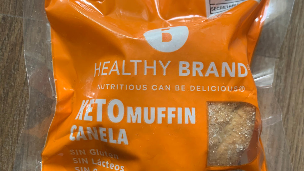 Muffin de CANELA Keto