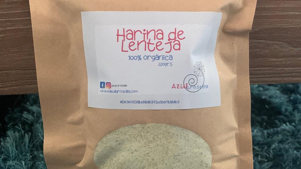 Harina de Lenteja 100% orgánica