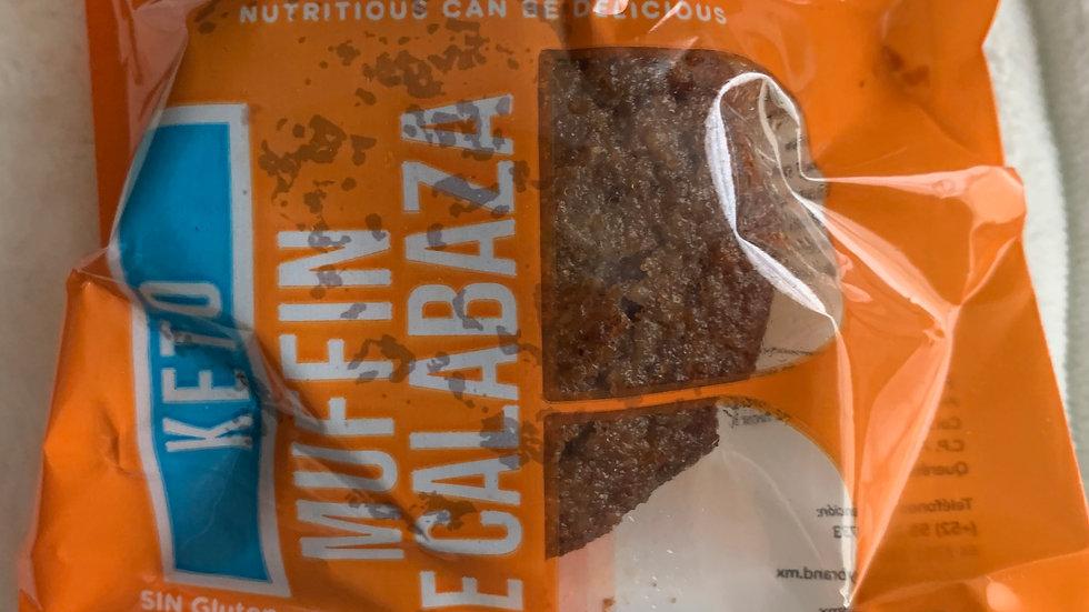 Muffin calabaza sin gluten KETO
