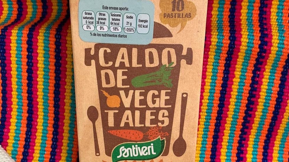Caldo de vegetales en cubos SIN GLUTEN