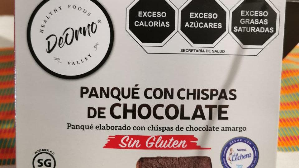 Caja PANQUÉ CON CHISPAS DE CHOCOLATE SIN GLUTEN