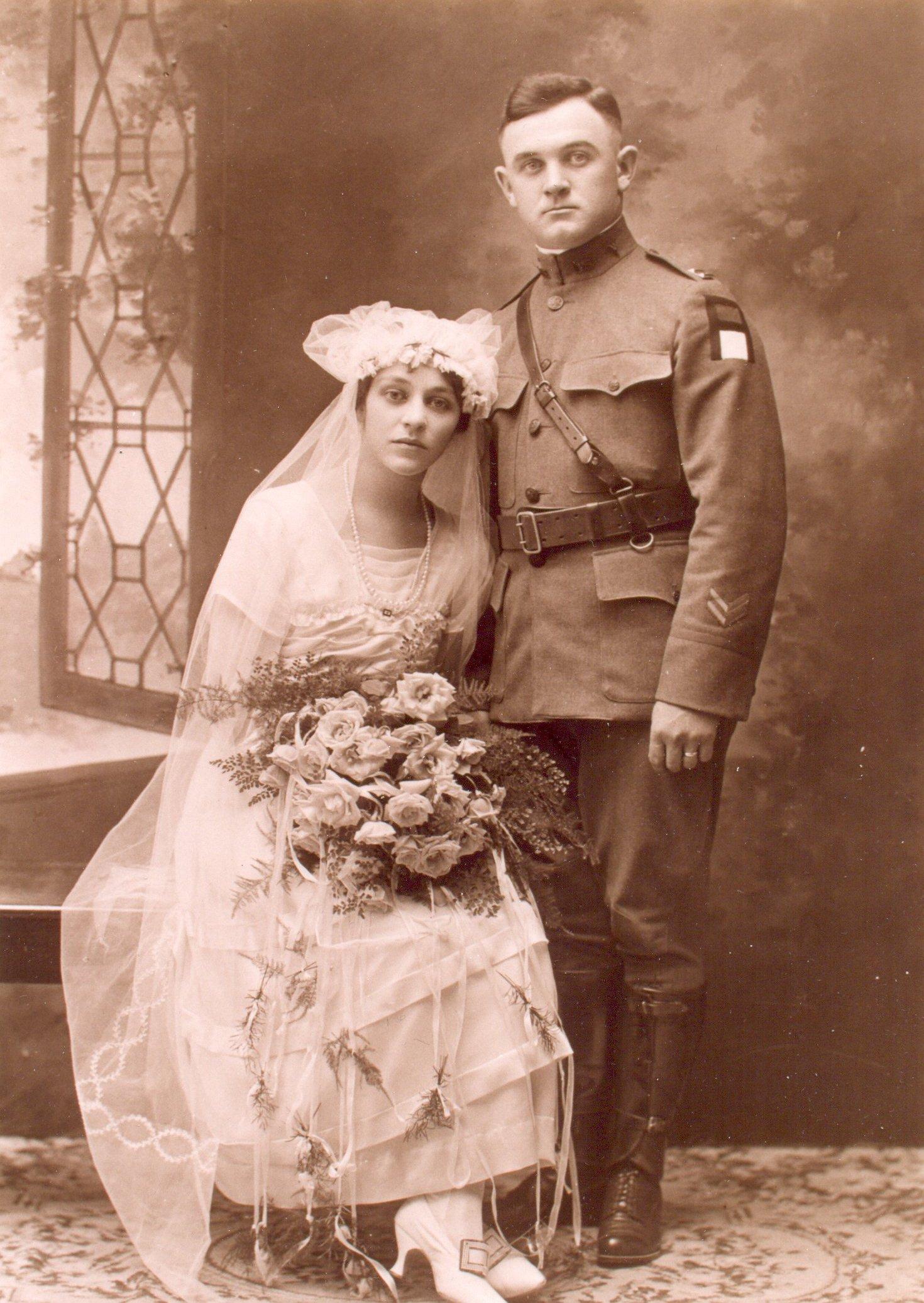 WWII Wedding