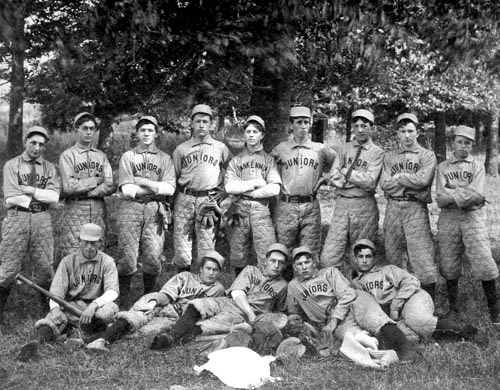 FHS Juniors Baseball Team 1904-1910