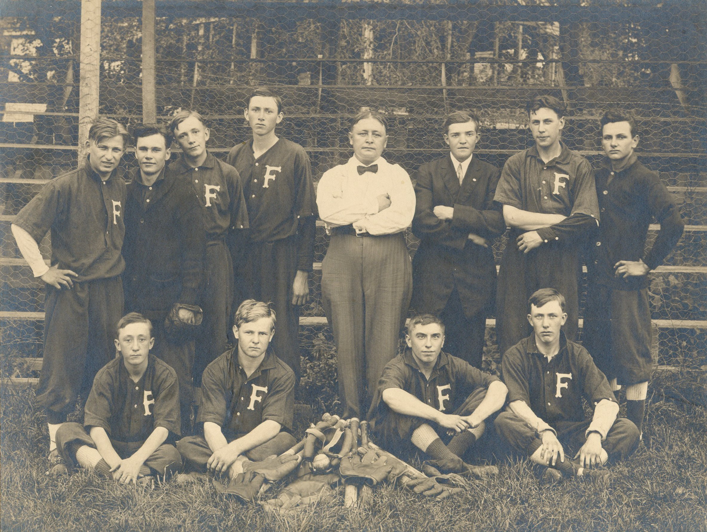 FHA Baseball Team 1910-1929