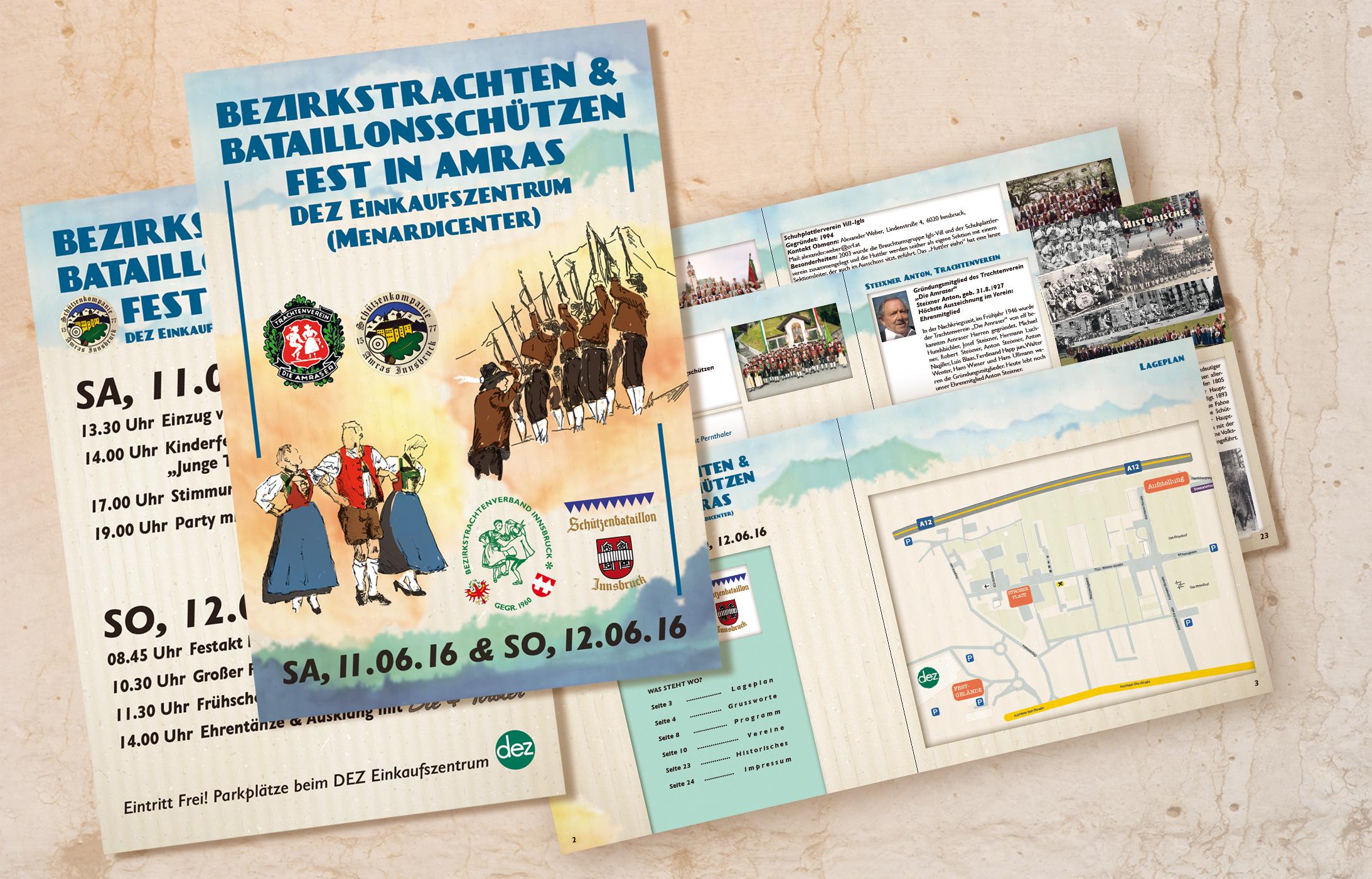 Bezirkstrachtenfest