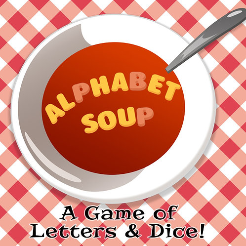 Alphabet Soup (Print and Play)