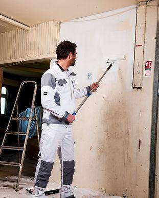arbeitskleidung malerkleidung jacke hose weiß