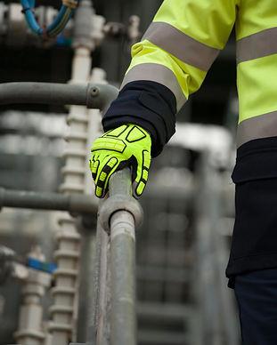handschuhe schutzhandschuhe arbeitshandschuhe fingerschutz gelb