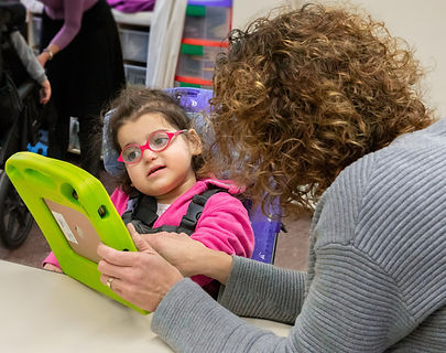 Girl having Vision Therapy