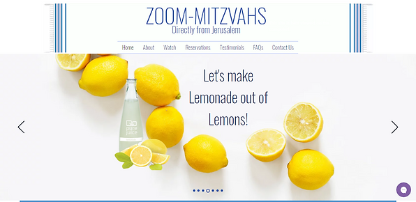 Virtual Bar/Bat Mitzvahs | Israel Bar/Ba