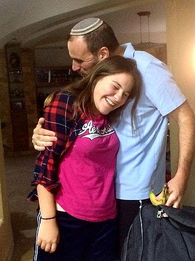 Gila and Rabbi Hammer