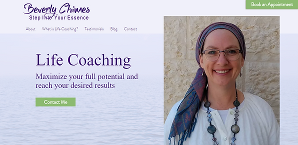 Home | Beverly Chimes Life Coaching | Be