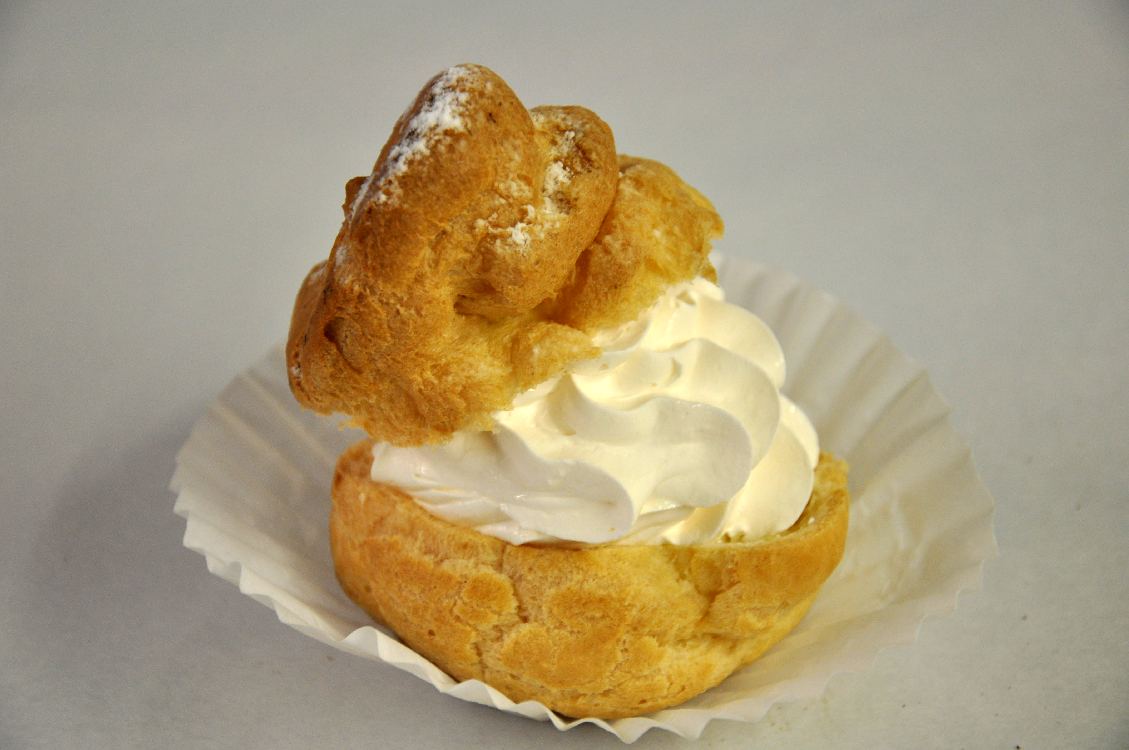 Crosby cream puff