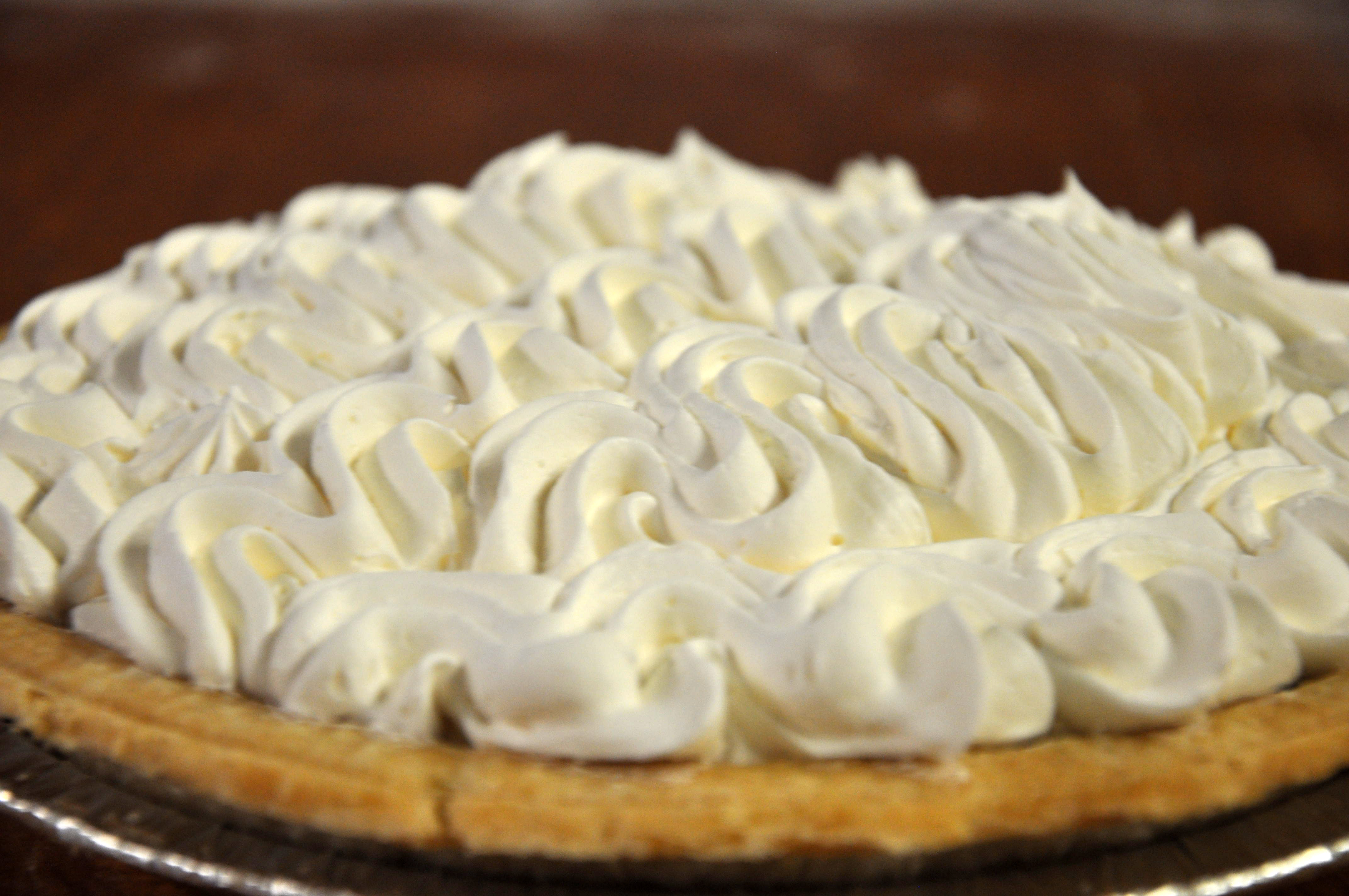 Crosby chocolate cream pie