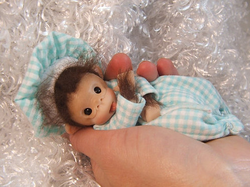 Clay Baby Monkey Tutorial