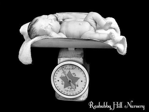 Mini Vintage Baby Scale