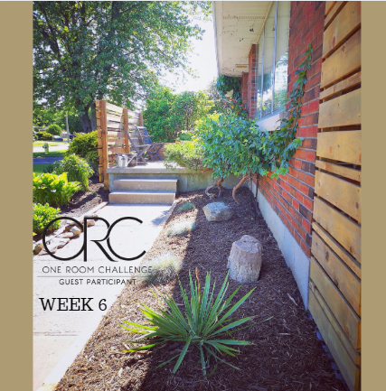 Modern Vintage Porch and Garden Project - ORC Week 5&6