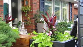 Modern Vintage Porch and Garden Reveal   Spring 2020 One Room Challenge