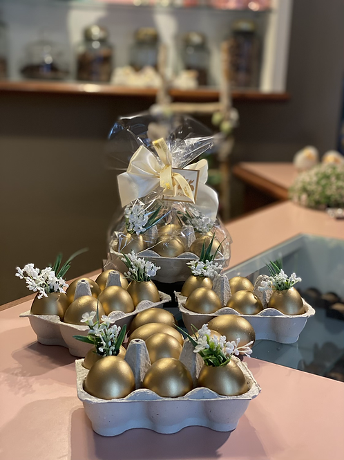 Cartela Ovos Dourados