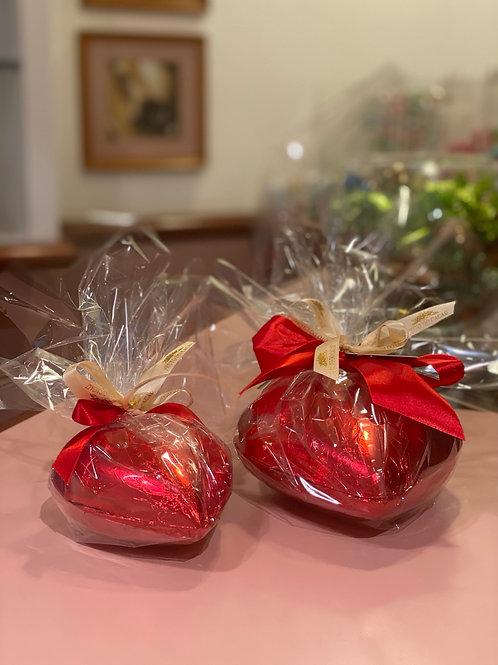 Coração de Chocolate com Bombom