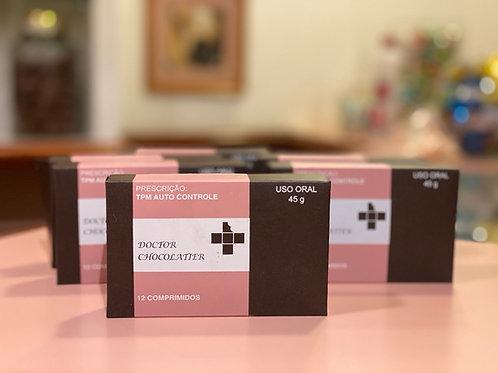 Caixa TPM - Comprimidos Chocolate