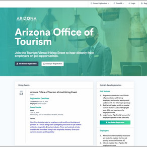 Pipeline AZ Partners with Arizona Office of Tourism, Arizona@Work for Hospitality Hiring Event