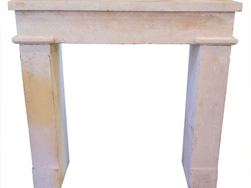 Antique Limestone Fireplace FPHD.1286