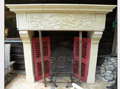 Limestone Fireplace FPH.1109