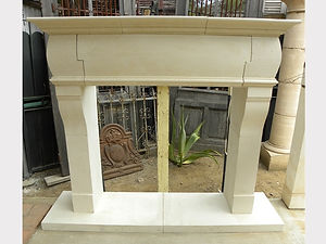Reproduction Limestone Fireplace FPH.110