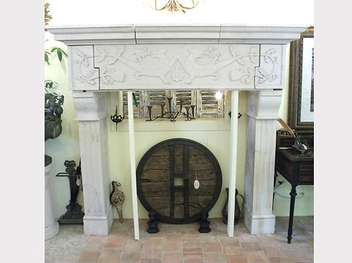 Limestone Fireplace FPH.1111