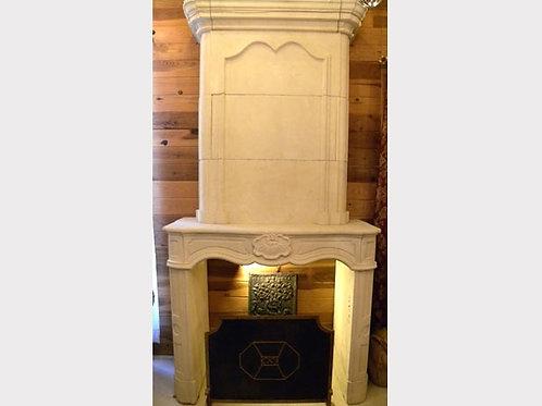 Limestone Fireplace FPH.1118
