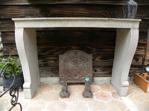 Antique Limestone Fireplace FP0C.1249