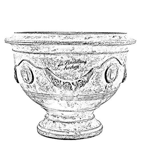 La Madeleine D'Anduze Cup Vase A.LM.420