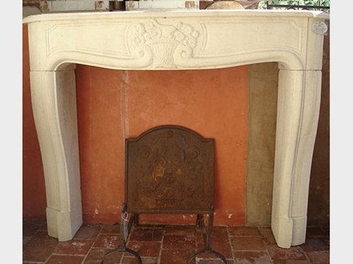 Limestone Fireplace FPH.1101