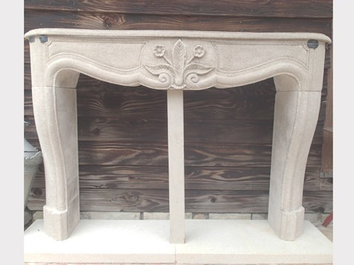Limestone Fireplace FPH.1113