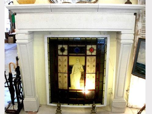 Limestone Fireplace FPH.1105