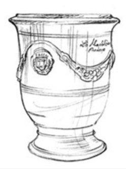 La Madeleine D'Anduze Planter A.LM.312