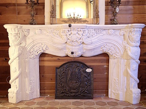 Marble Antique Fireplace FPMD.1307
