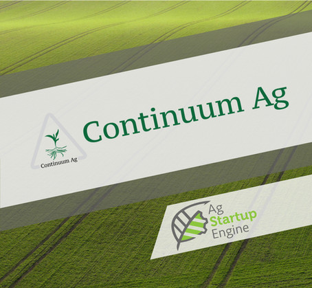 PRESS: Ag Startup Engine Accepts Continuum Ag Into Startup Program