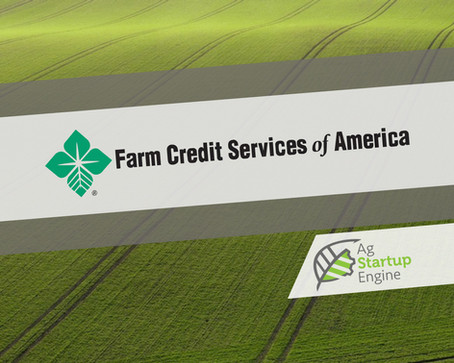 PRESS: Farm Credit Services of America become Golden Grade Sponsor of Ag Startup Engine