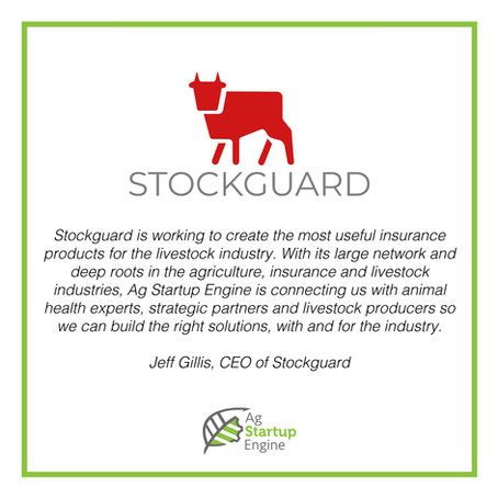 PRESS: Ag Startup Engine Accepts Stockguard Into Startup Program