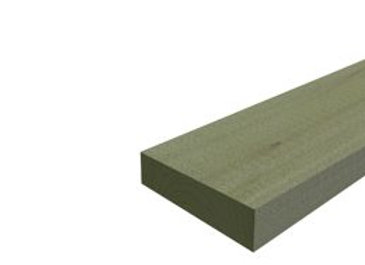 Антисептированная обрезная доска 25х100х6000 мм, хвоя, сорт 1, ГОСТ