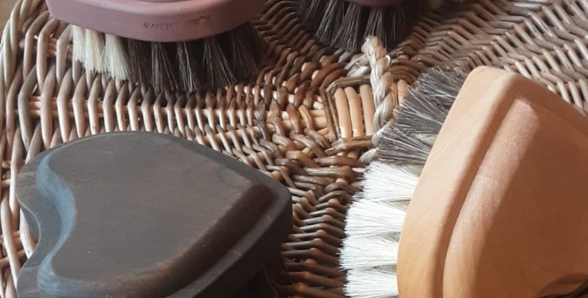 Heart shaped Bath Brush
