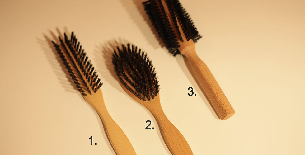 Hair Brush (beech wood)