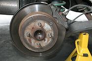 Car brake repair and brake inspection