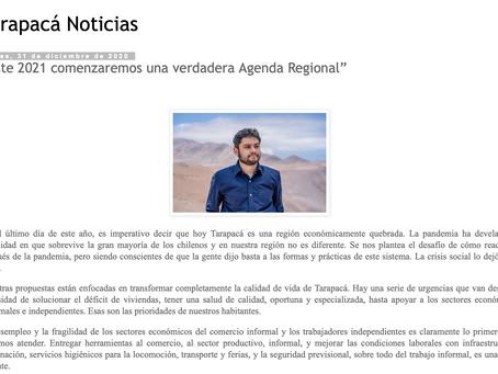"""""""Este 2021 comenzaremos una verdadera Agenda Regional"""""""